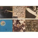 LED ZEPPELIN/PINK FLOYD - TAIWANESE PRESSING LPs