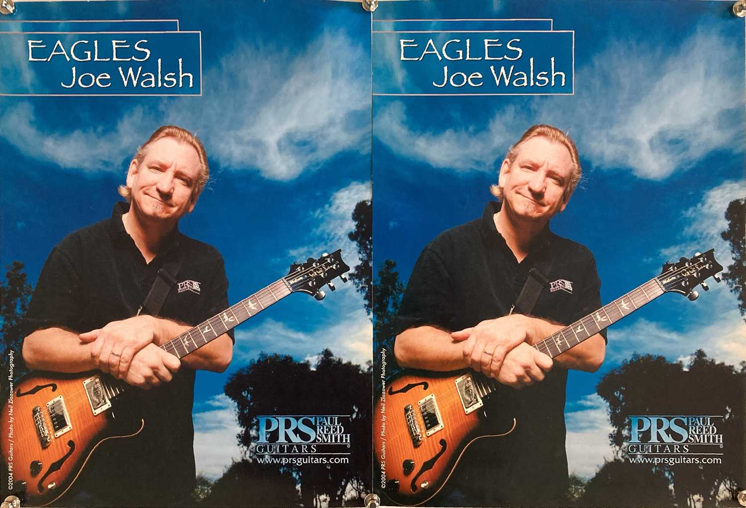 GUITAR PROMOTIONAL POSTERS. - Image 2 of 3