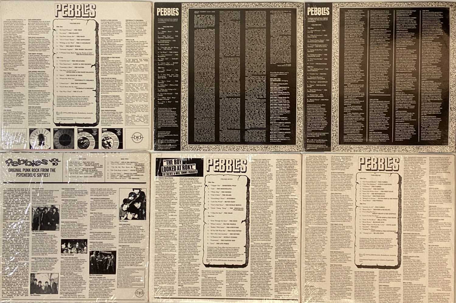 PEBBLES (COMPILATION) LPs. - Image 2 of 2