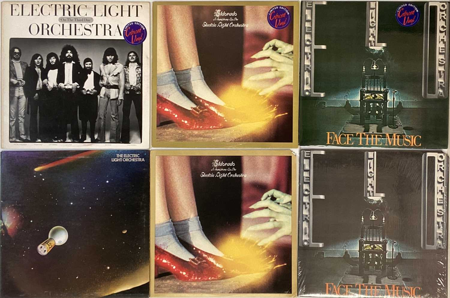 ELO AND RELATED - LPs