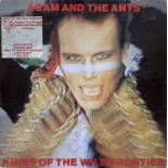 ADAM AND THE ANTS SIGNED LP AND CATALOGUE.