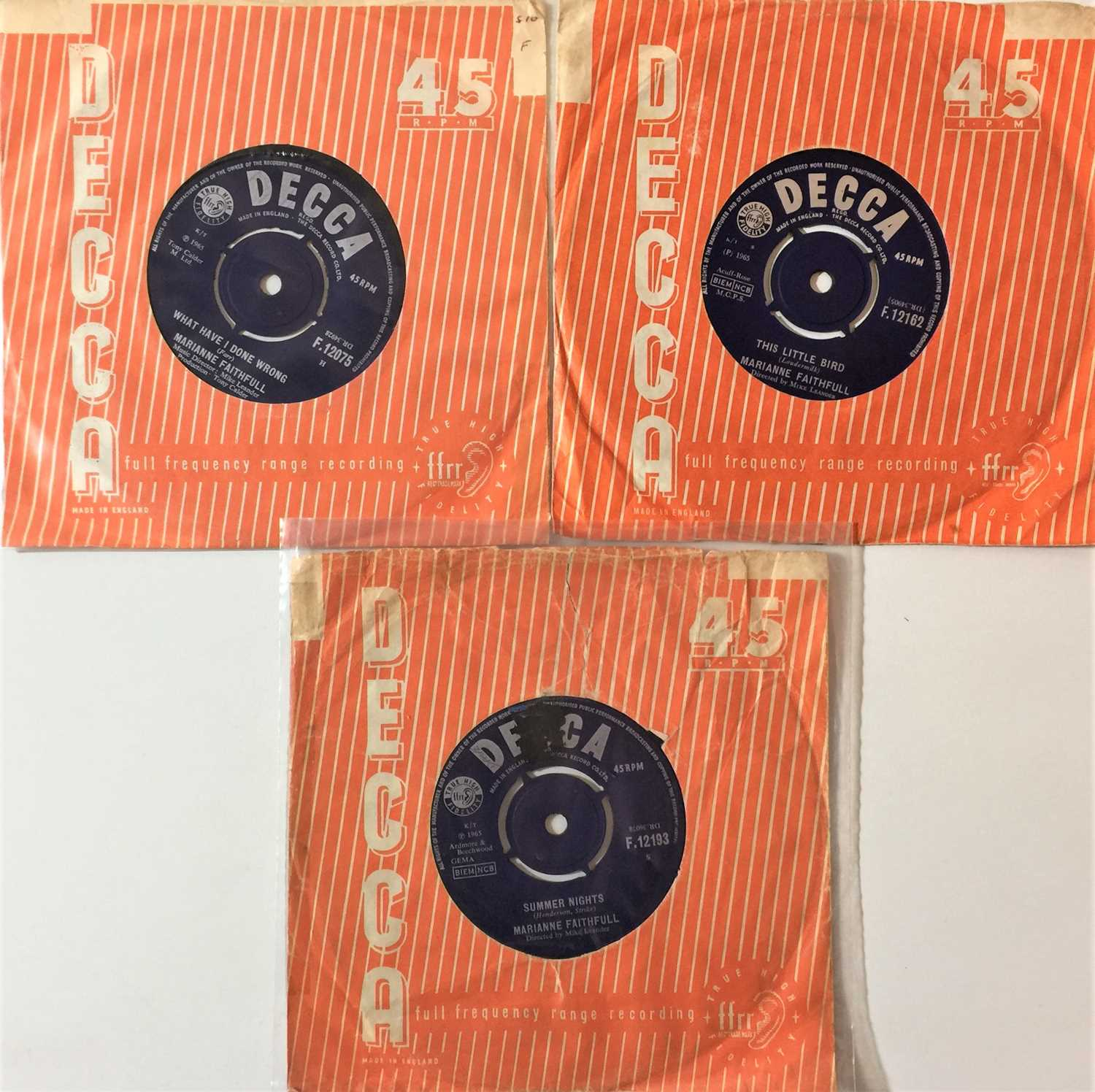 """THE ROLLING STONES & RELATED - 7"""" COLLECTION - Image 3 of 3"""