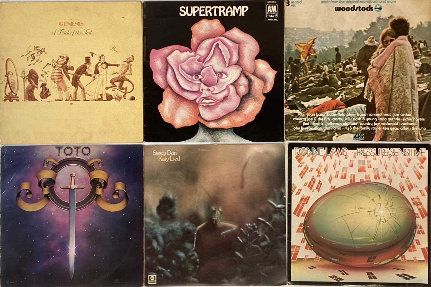 CLASSIC/ FOLK/ SOUTHERN ROCK - LPs - Image 2 of 6