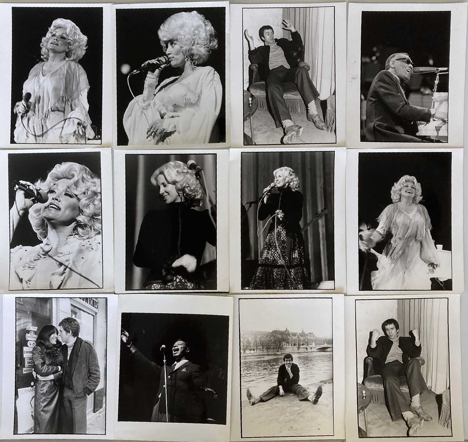 MUSIC PHOTOGRAPHS - CLASSIC ROCK AND POP - U2 / KATE BUSH AND MORE. - Image 7 of 7