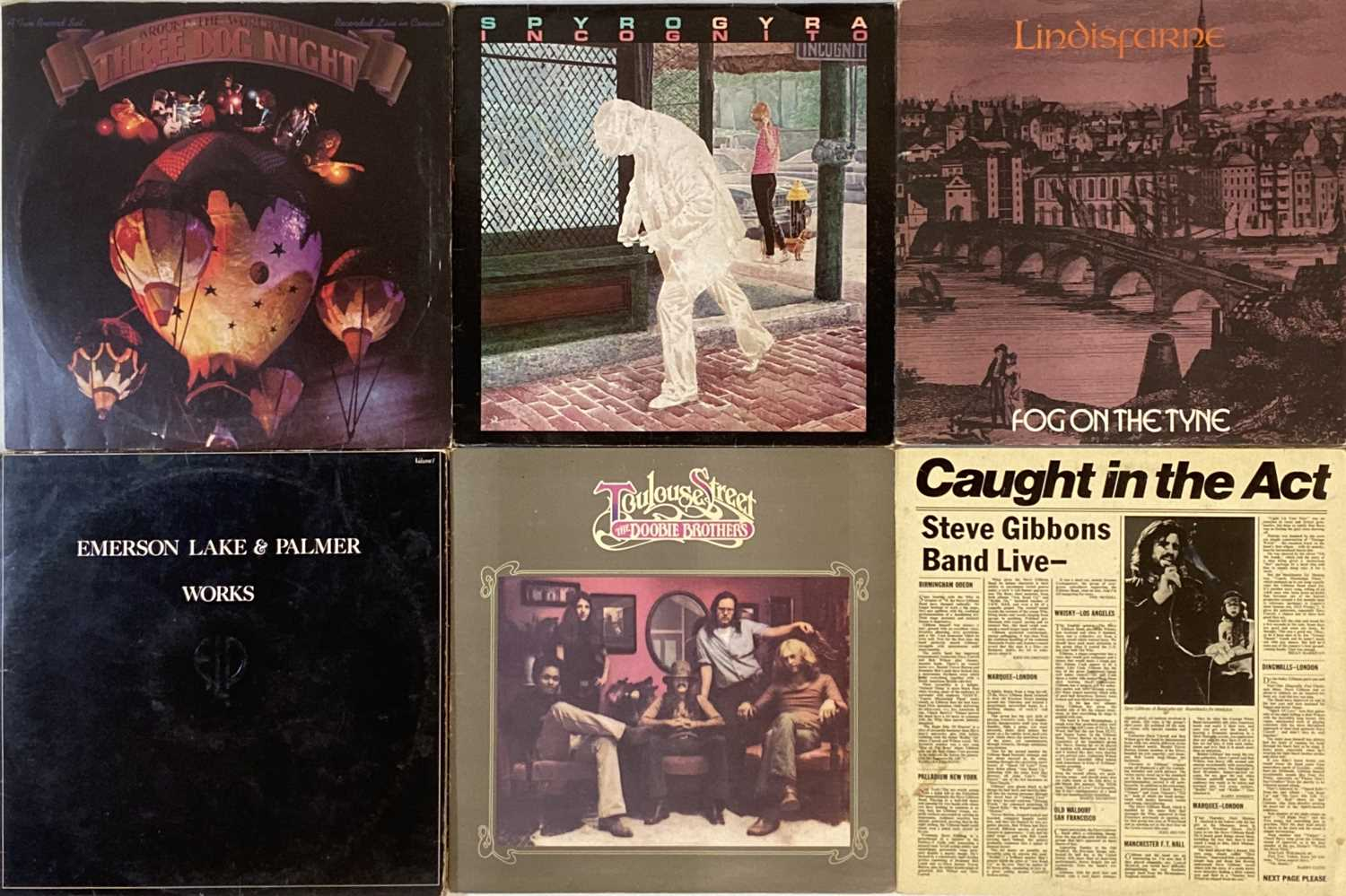 CLASSIC/ FOLK/ SOUTHERN ROCK - LPs - Image 4 of 6