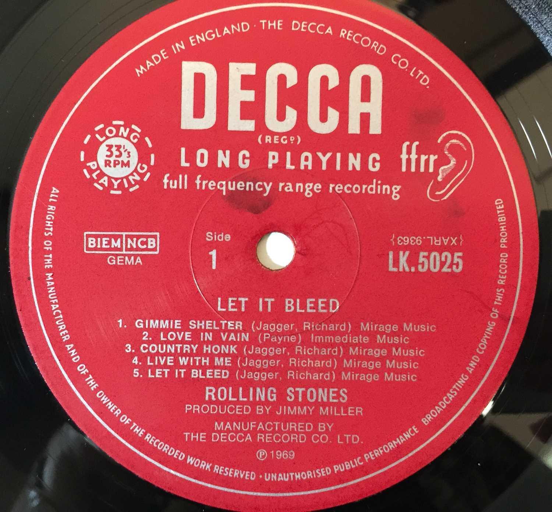 THE ROLLING STONES - LET IT BLEED LP (COMPLETE ORIGINAL UK MONO COPY - LK 5025). - Image 4 of 6