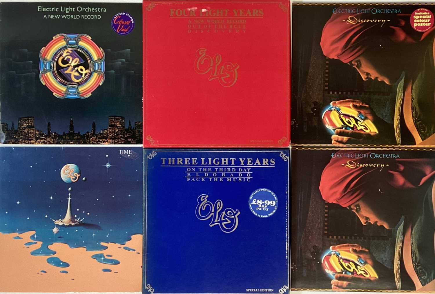 ELO AND RELATED - LPs - Image 2 of 5