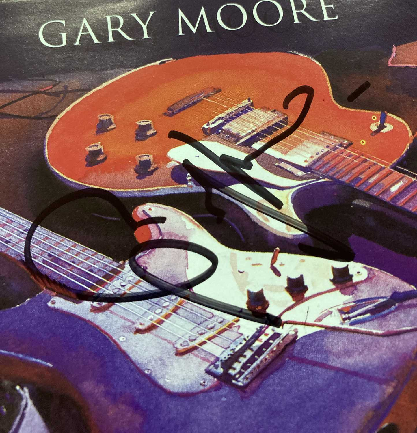 GARY MOORE - SIGNED CD COVERS. - Image 3 of 3