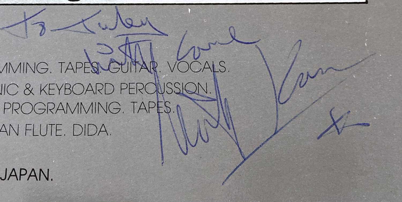 JAPAN SIGNED LP. - Image 6 of 7