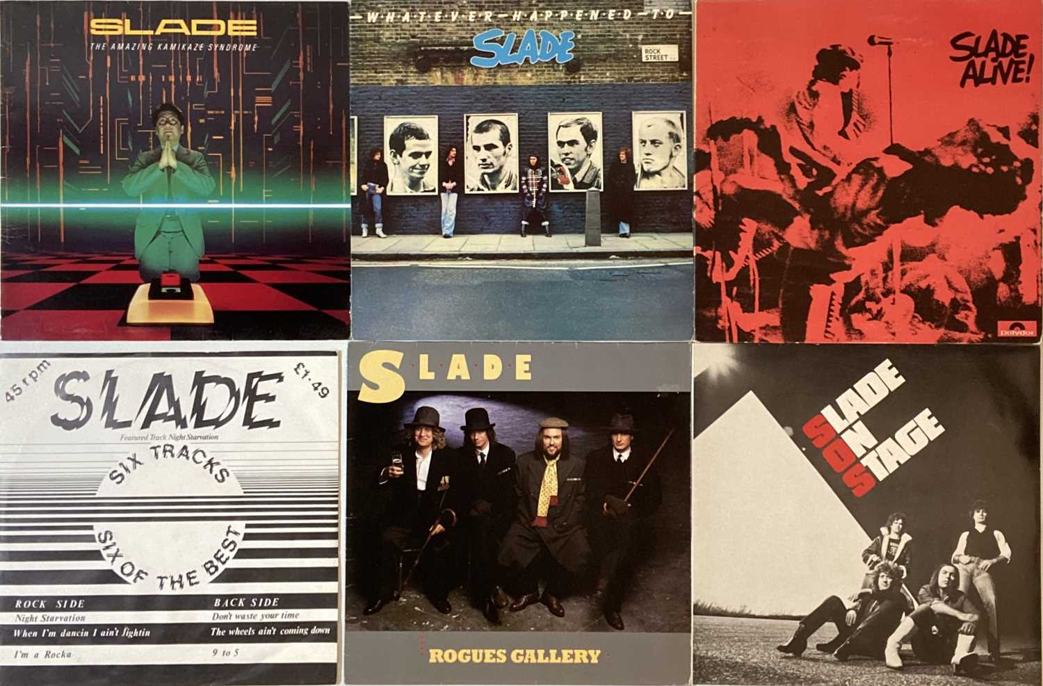 SLADE/ STATUS QUO - LP COLLECTION - Image 2 of 4