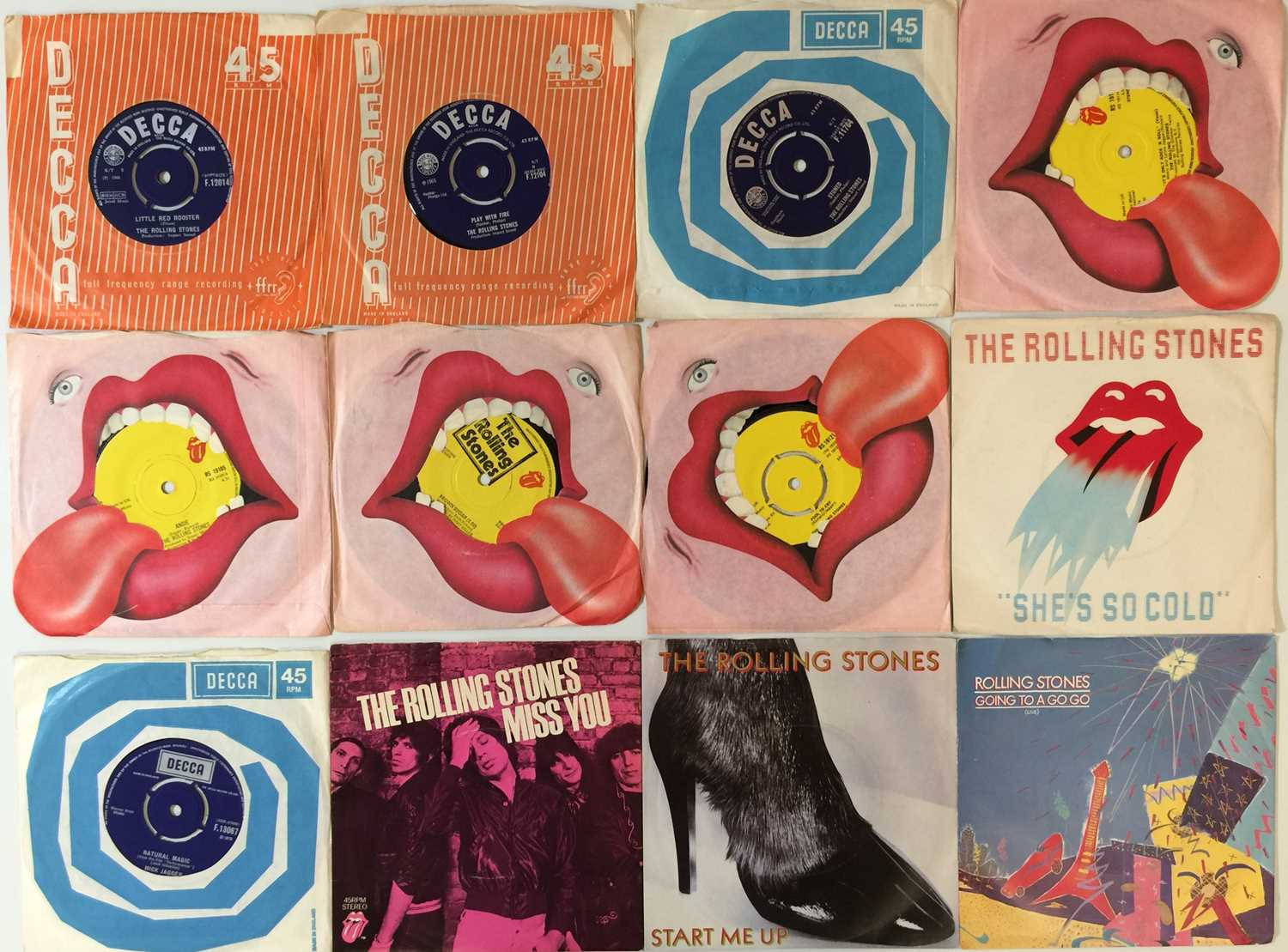 """THE ROLLING STONES AND RELATED - 7"""" PACK - Image 2 of 3"""