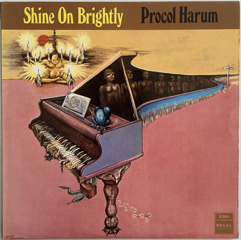 PROCOL HARUM - SHINE ON BRIGHTLY LP (ORIGINAL UK PRESSING - REGAL ZONOPHONE SLRZ 1004)