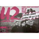 U2 1984 POSTERS - 10 COPIES OF.
