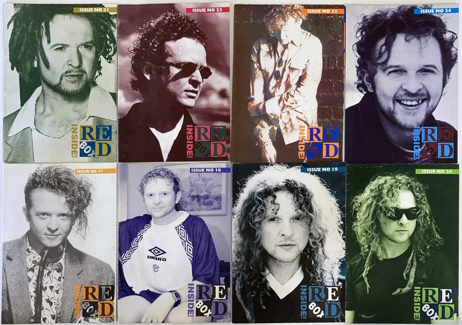 SIMPLY RED MEMORABILIA INC SIGNED ITEMS. - Image 6 of 15
