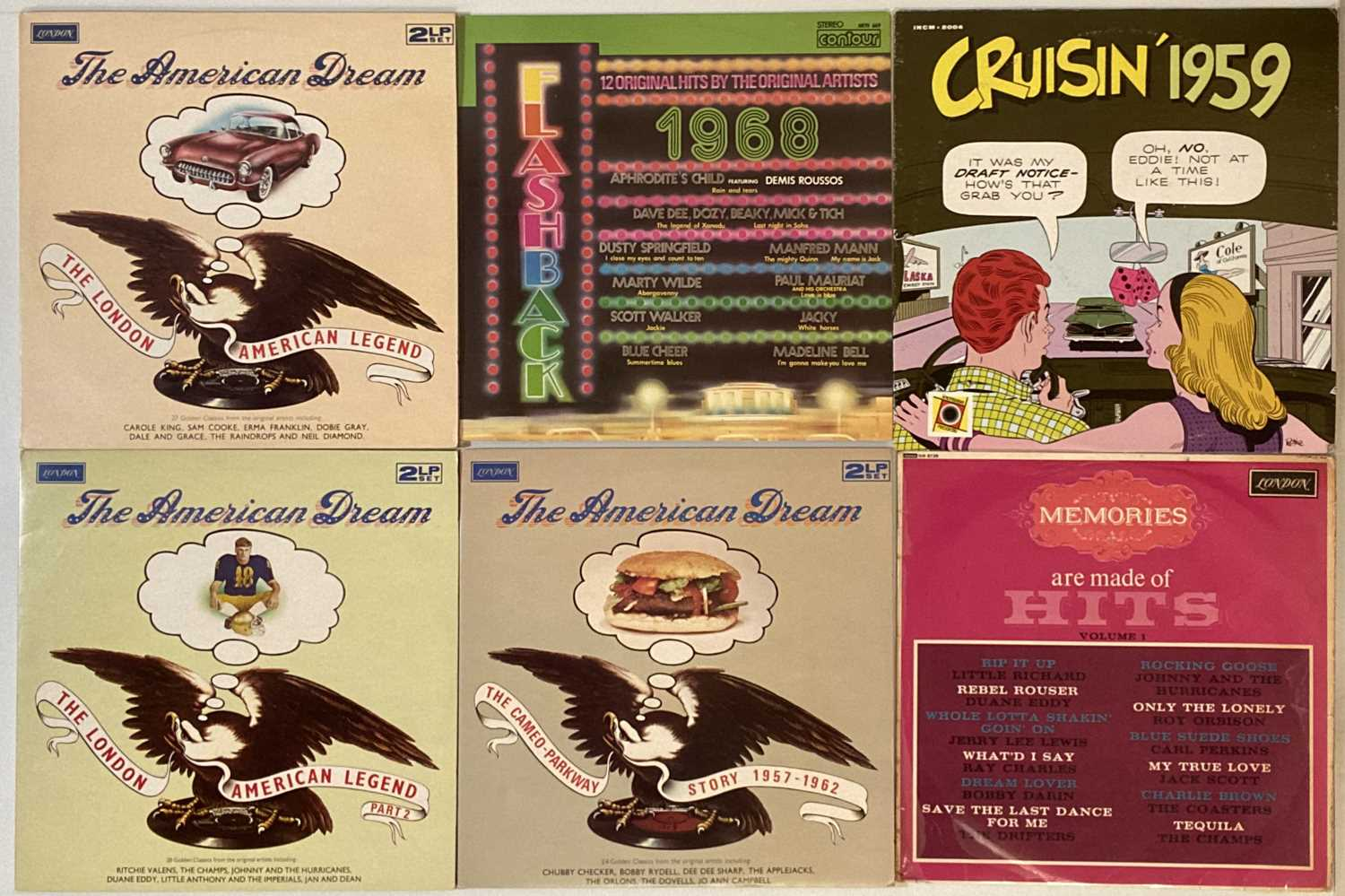 ROCK/ POP/ ROCK AND ROLL - COMPILATION - LPs - Image 5 of 5