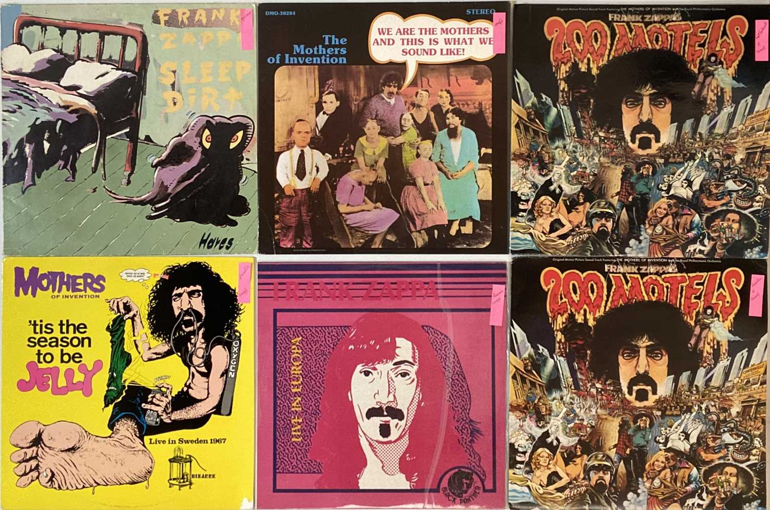 """FRANK ZAPPA - OVERSEAS/PRIVATE PRESSING LPs/7"""" - Image 2 of 4"""