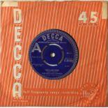 "THE ROLLING STONES - THE LAST TIME 7"" (ORIGINAL UK DEMO - DECCA F 12104)"