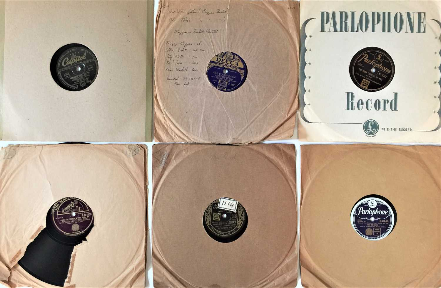 """JAZZ - 10"""" 78s (LARGE COLLECTION - Image 2 of 4"""