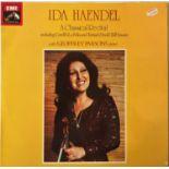 IDA HANDEL/ GEOFFREY PARSONS - A CLASSICAL RECITAL LP (UK QUADRAPHONIC - ASD 3352)