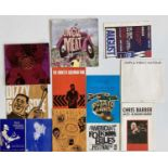 JAZZ AND BLUES CONCERT PROGRAMMES C 1960S.