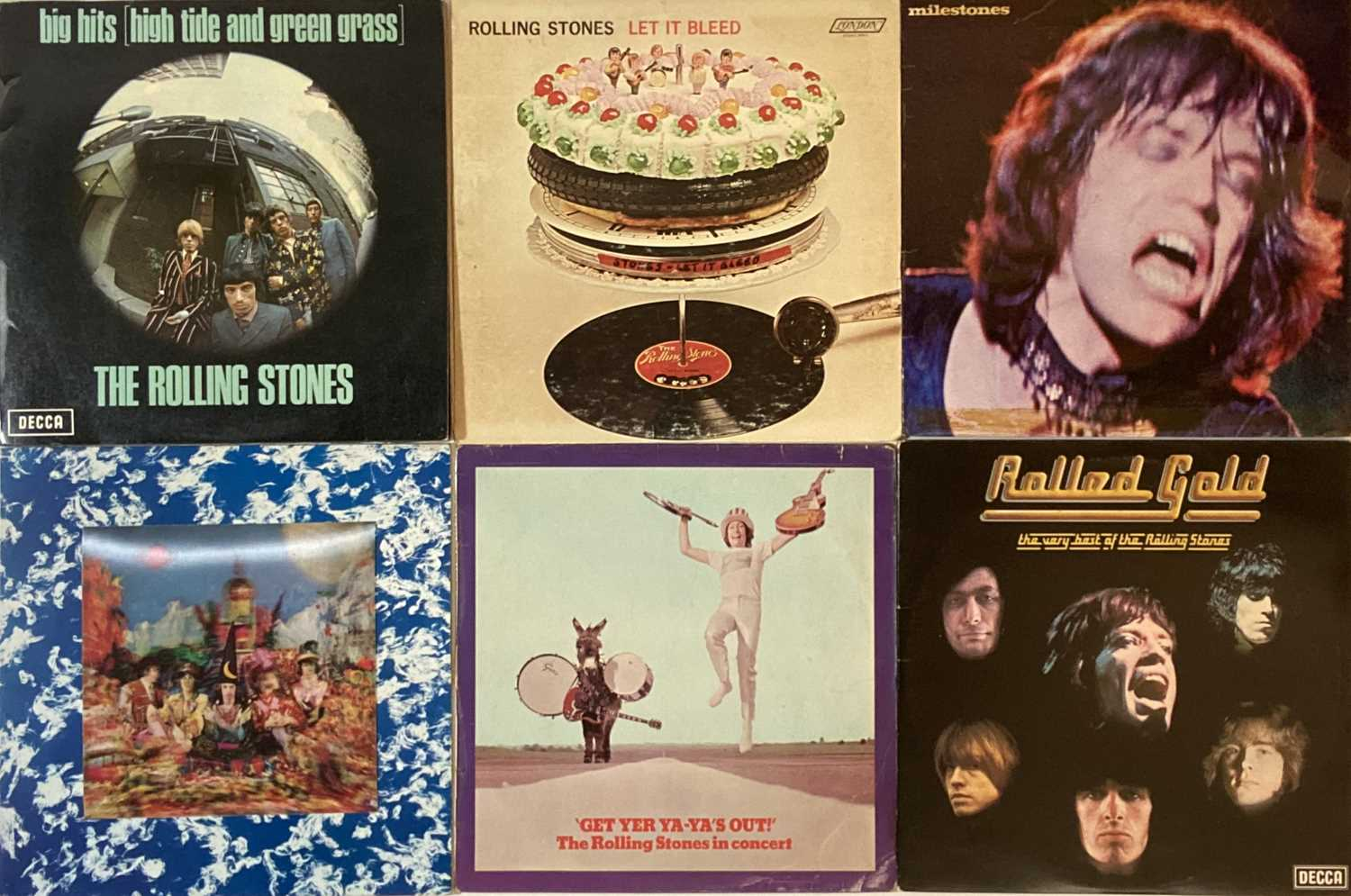 ROLLING STONES - LPs - Image 2 of 3
