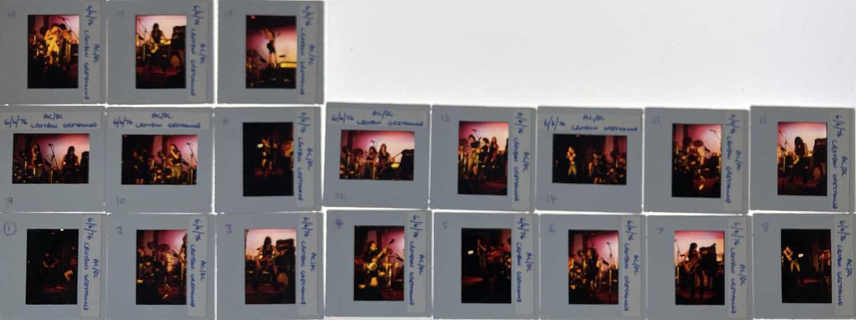 AC/DC PHOTO TRANSPARENCIES. - Image 5 of 17