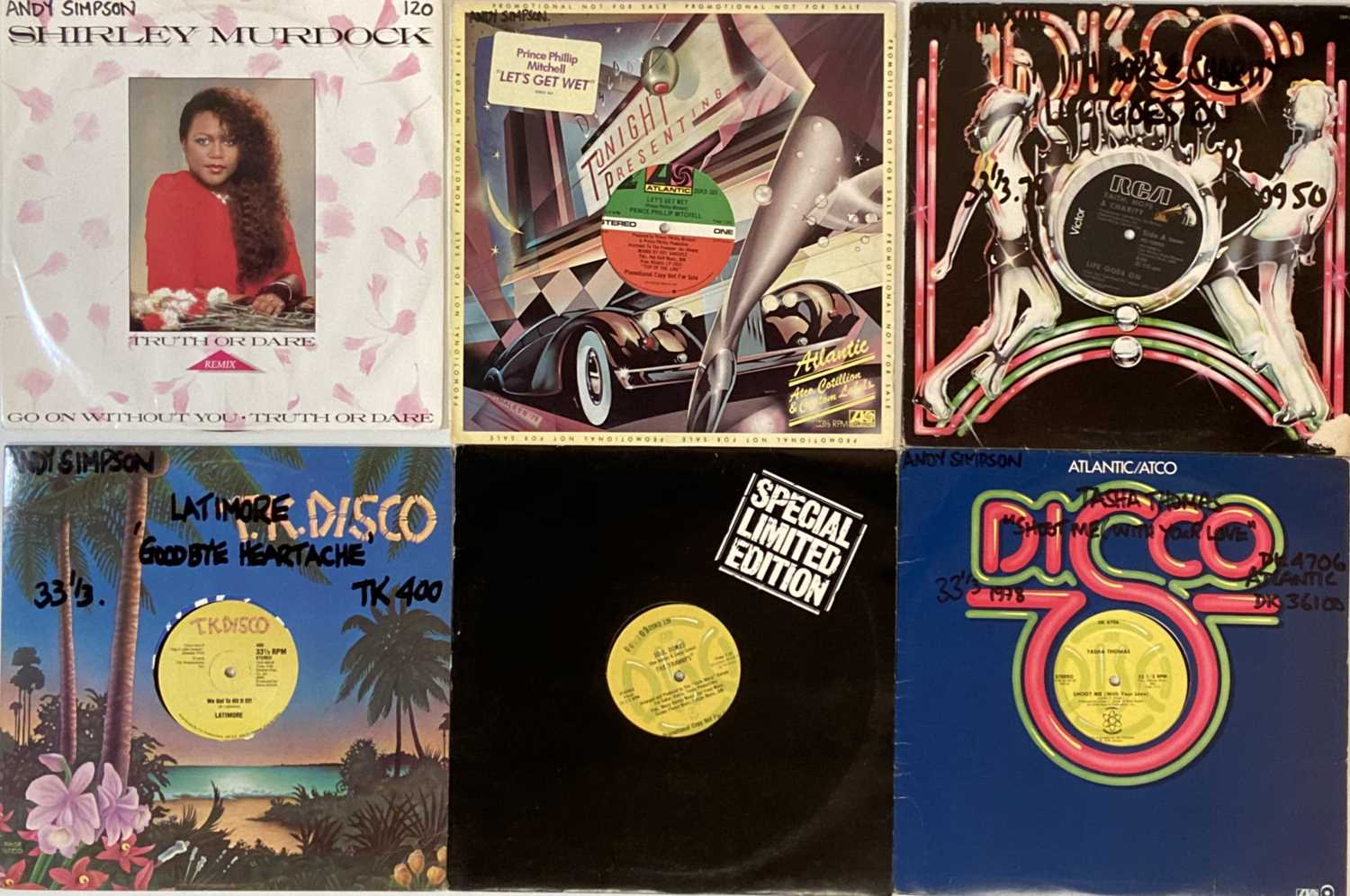 """DISCO/SOUL/HIGH NRG - 12"""" COLLECTION. - Image 3 of 5"""