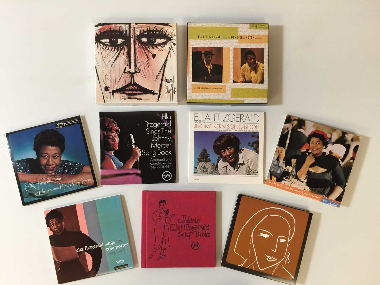 ELLA FITZGERALD - THE COMPLETE SONG BOOKS (16 CD SET - 314519 832-2) - Image 2 of 2