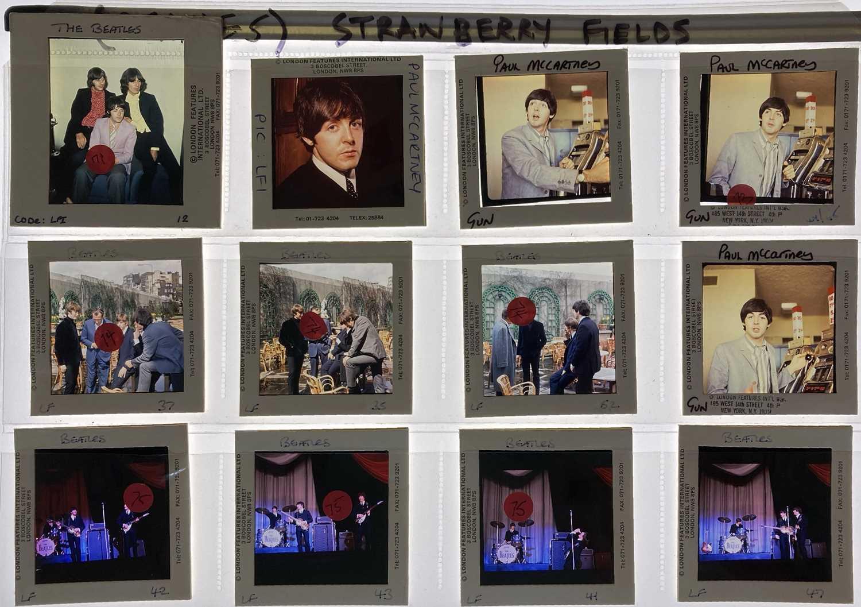 MUSIC TRANSPARENCIES - THE BEATLES / PAUL MCCARTNEY.