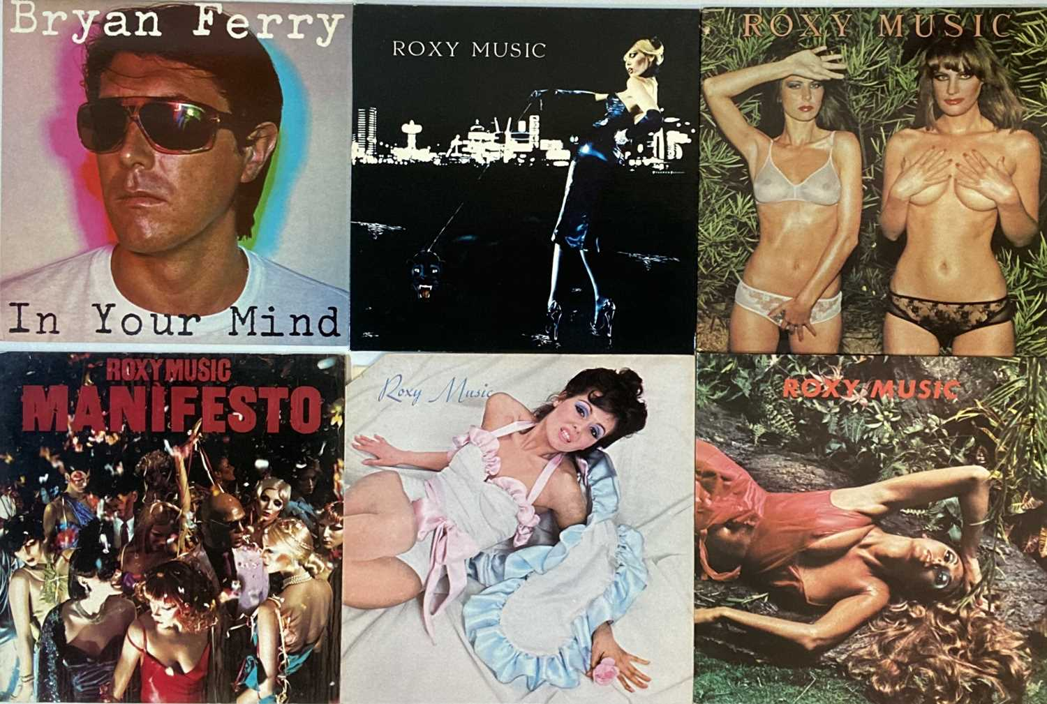 DAVID BOWIE/ROXY MUSIC & RELATED - LPs - Image 2 of 3