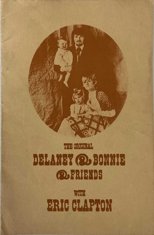 ERIC CLAPTON DELANEY AND BONNIE 1969.