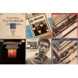 60s ARTISTS - LPs PLUS BEATLES PLAQUE