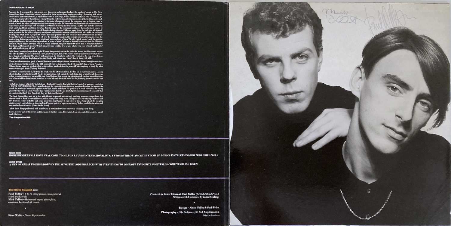 THE STYLE COUNCIL - SIGNED LPS. - Image 6 of 8