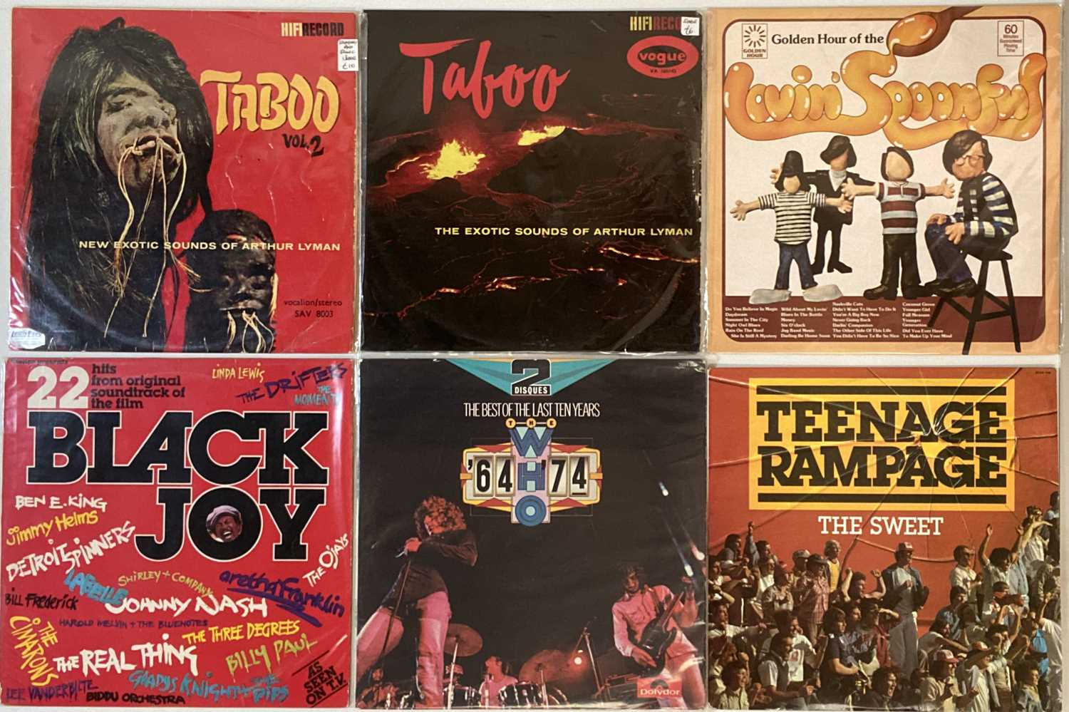 """CLASSIC ROCK & POP – LPs (WITH 12"""") - Image 6 of 6"""