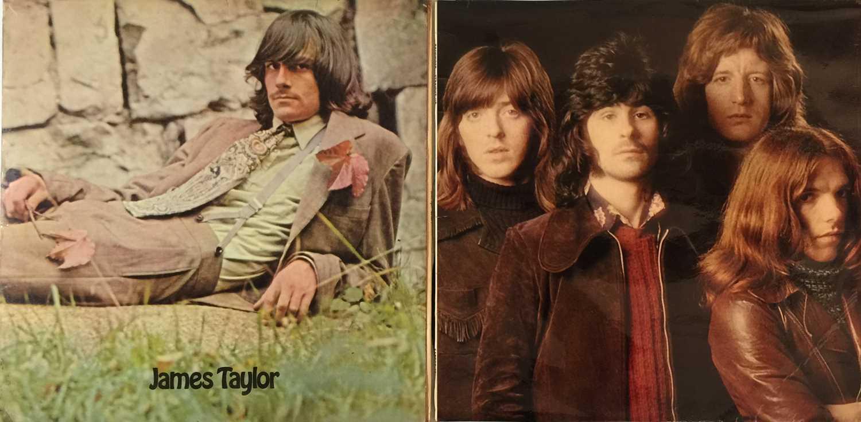 BADFINGER / JAMES TAYLOR - UK APPLE LPs