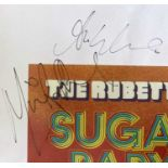 1970S GROUPS SIGNED ITEMS.