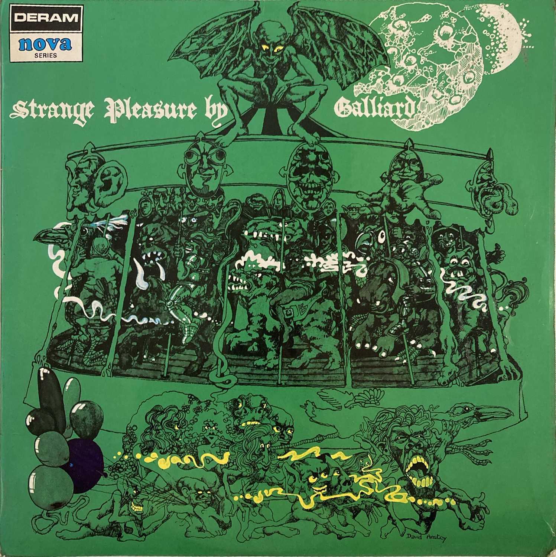 GALLIARD - STRANGE PLEASURE LP (ORIGINAL UK DERAM NOVA SERIES MONO PRESSING - DN 4)