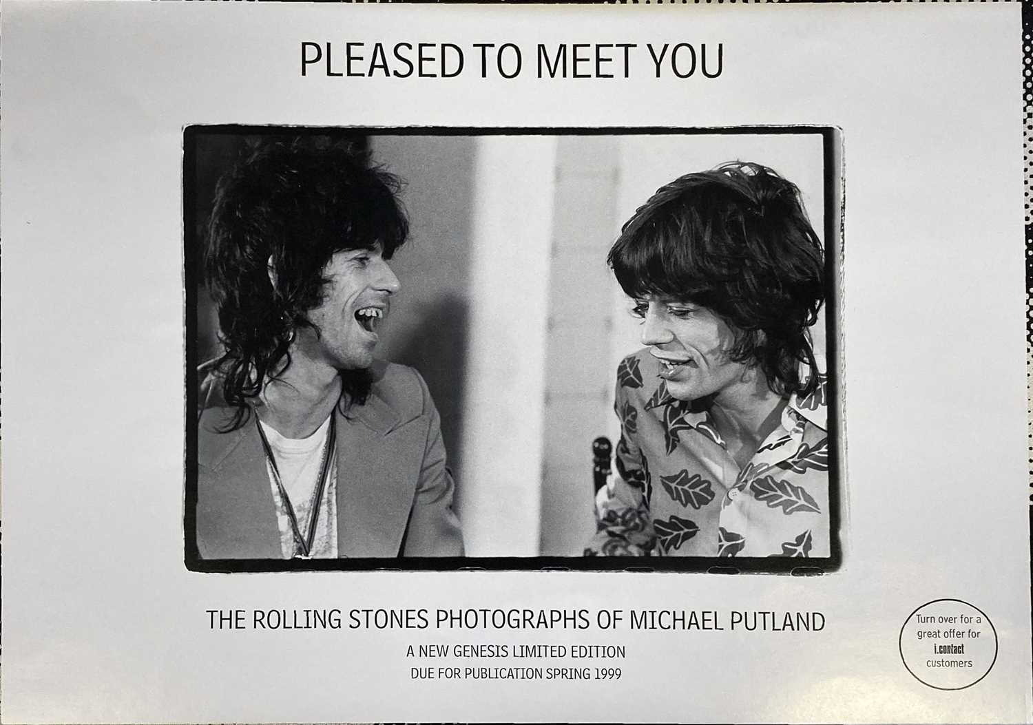 GERED MANKOWITZ - EYE CONTACT LIMITED EDITION ROLLING STONES GENESIS BOOK. - Image 2 of 6