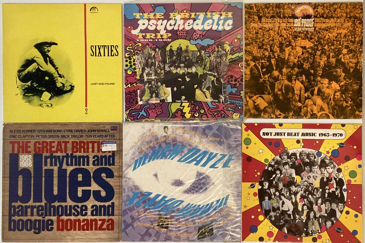 ROCK/ POP/ ROCK AND ROLL - COMPILATION - LPs