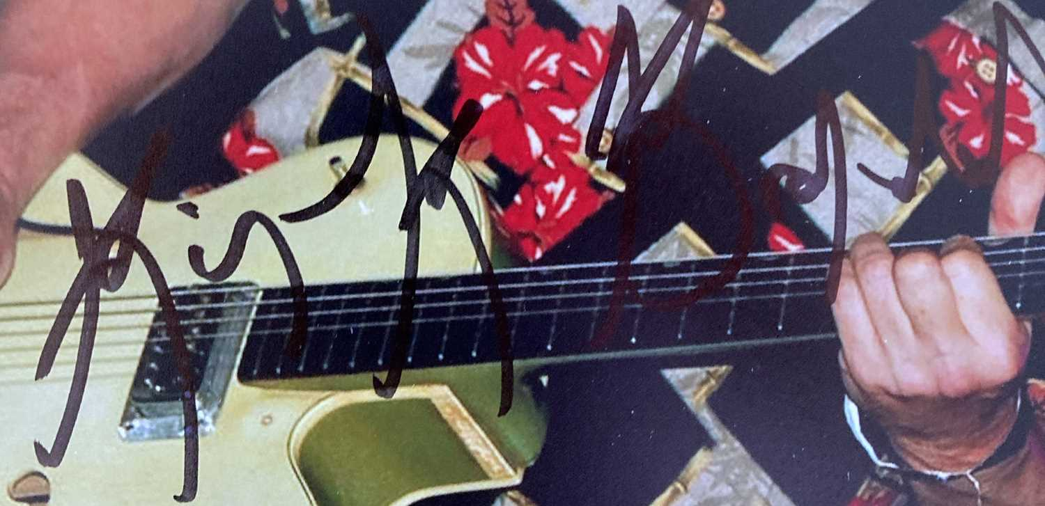 PUNK / NEW WAVE SIGNED ITEMS. - Image 6 of 9
