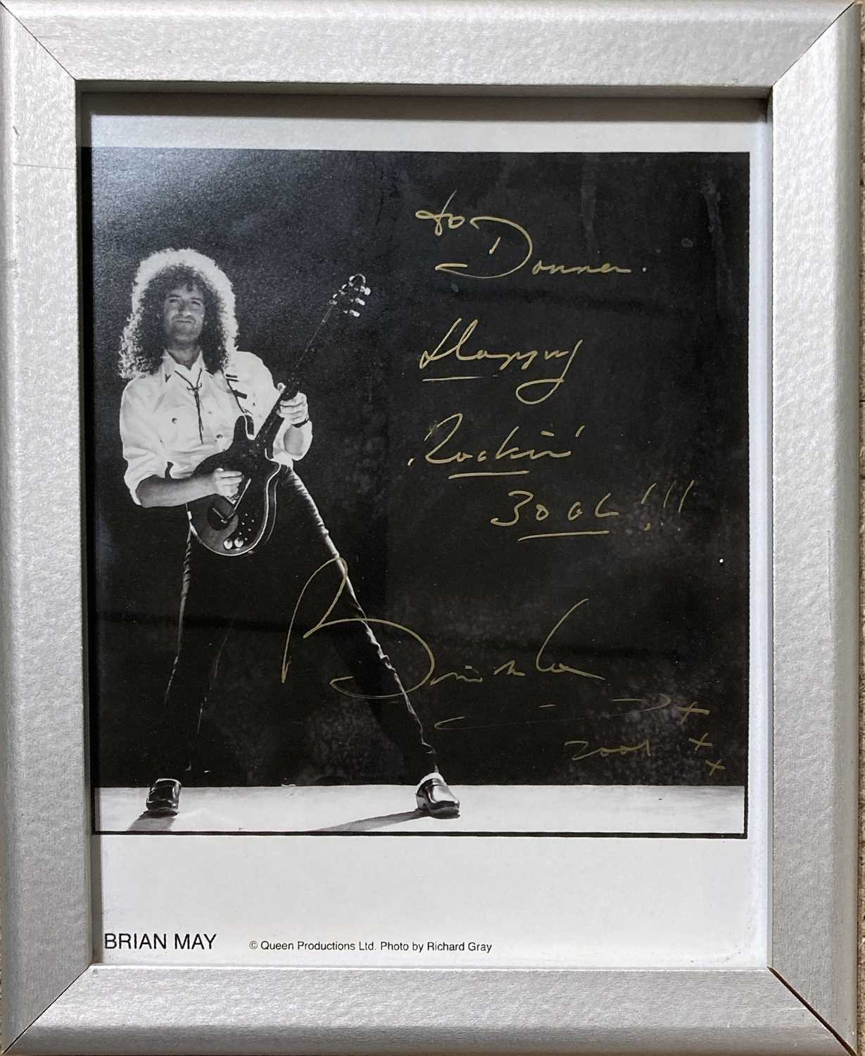QUEEN SIGNED ITEMS.