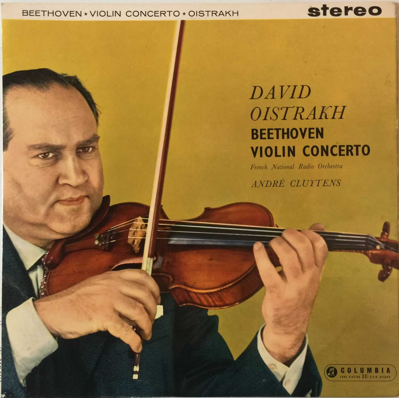 DAVID OISTRAKH - VIOLIN CONCERTO LP (UK STEREO - SAX 2315)