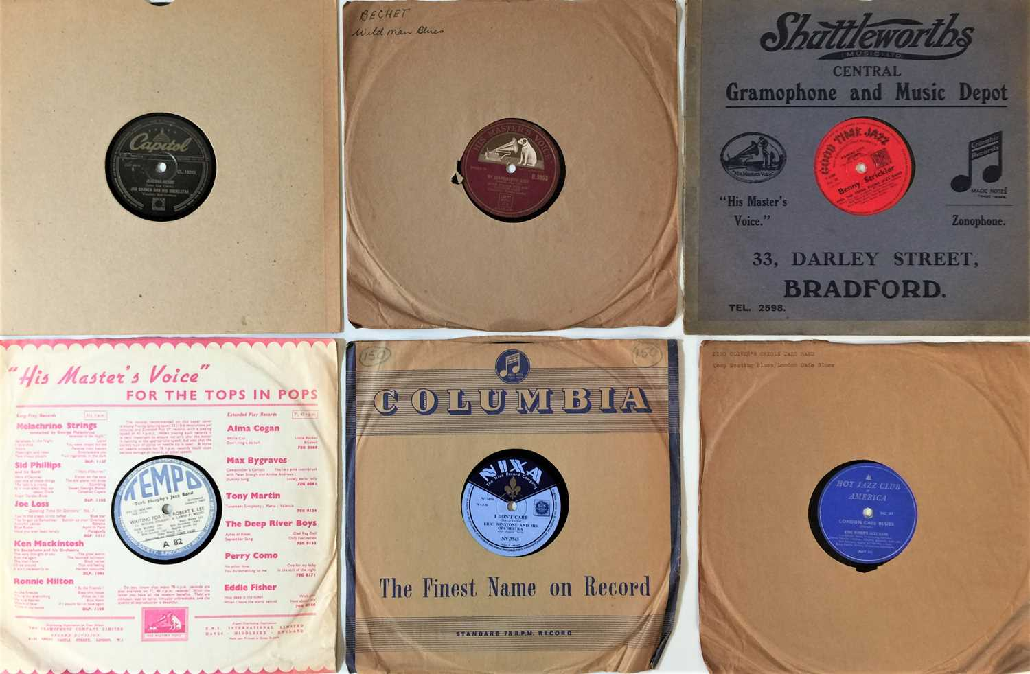 """JAZZ - 10"""" 78s (LARGE COLLECTION - Image 4 of 4"""