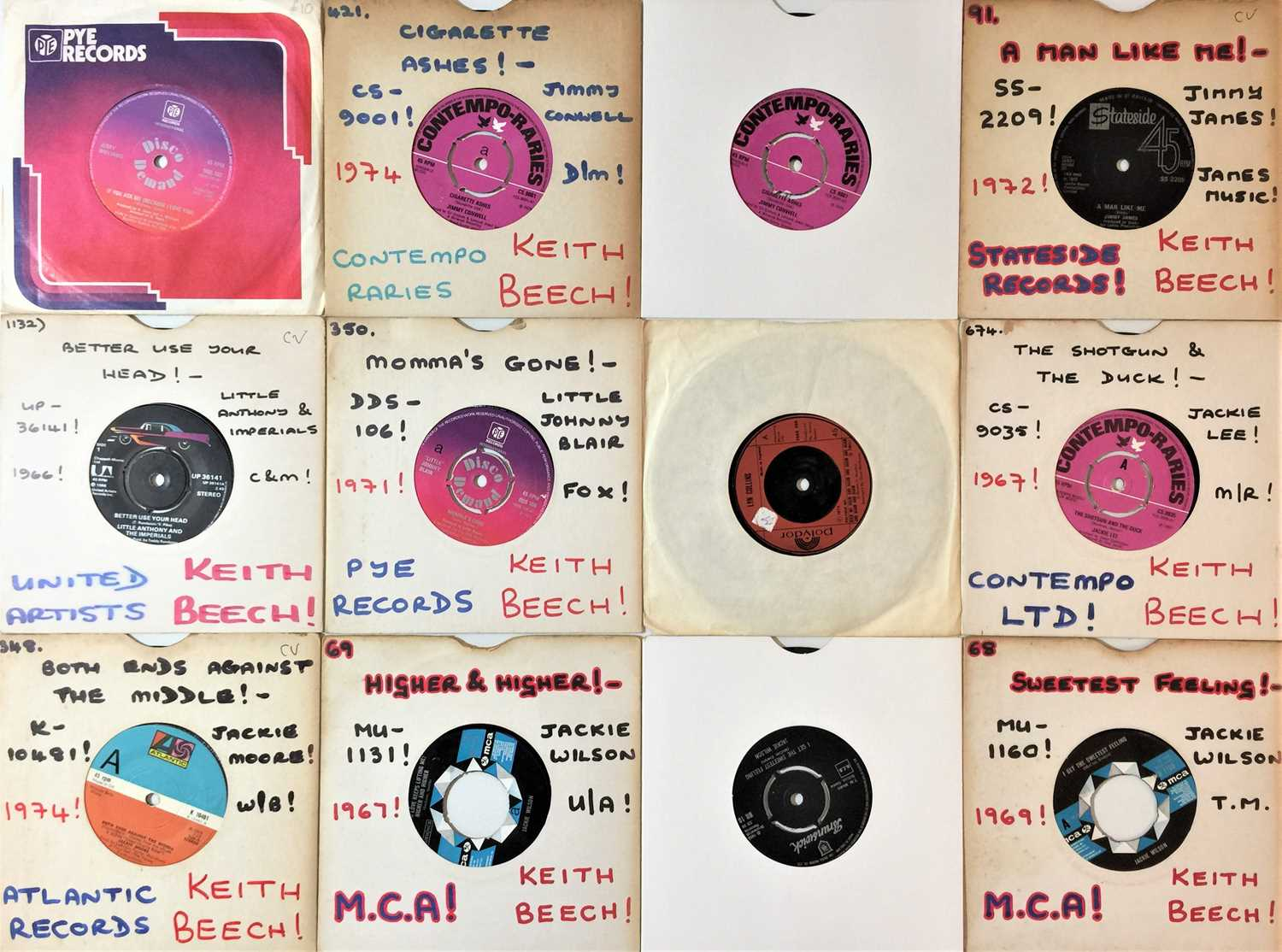 """60s/ 70s SOUL/ NORTHERN/ MOTOWN/ FUNK - 7"""" COLLECTION - Image 3 of 4"""