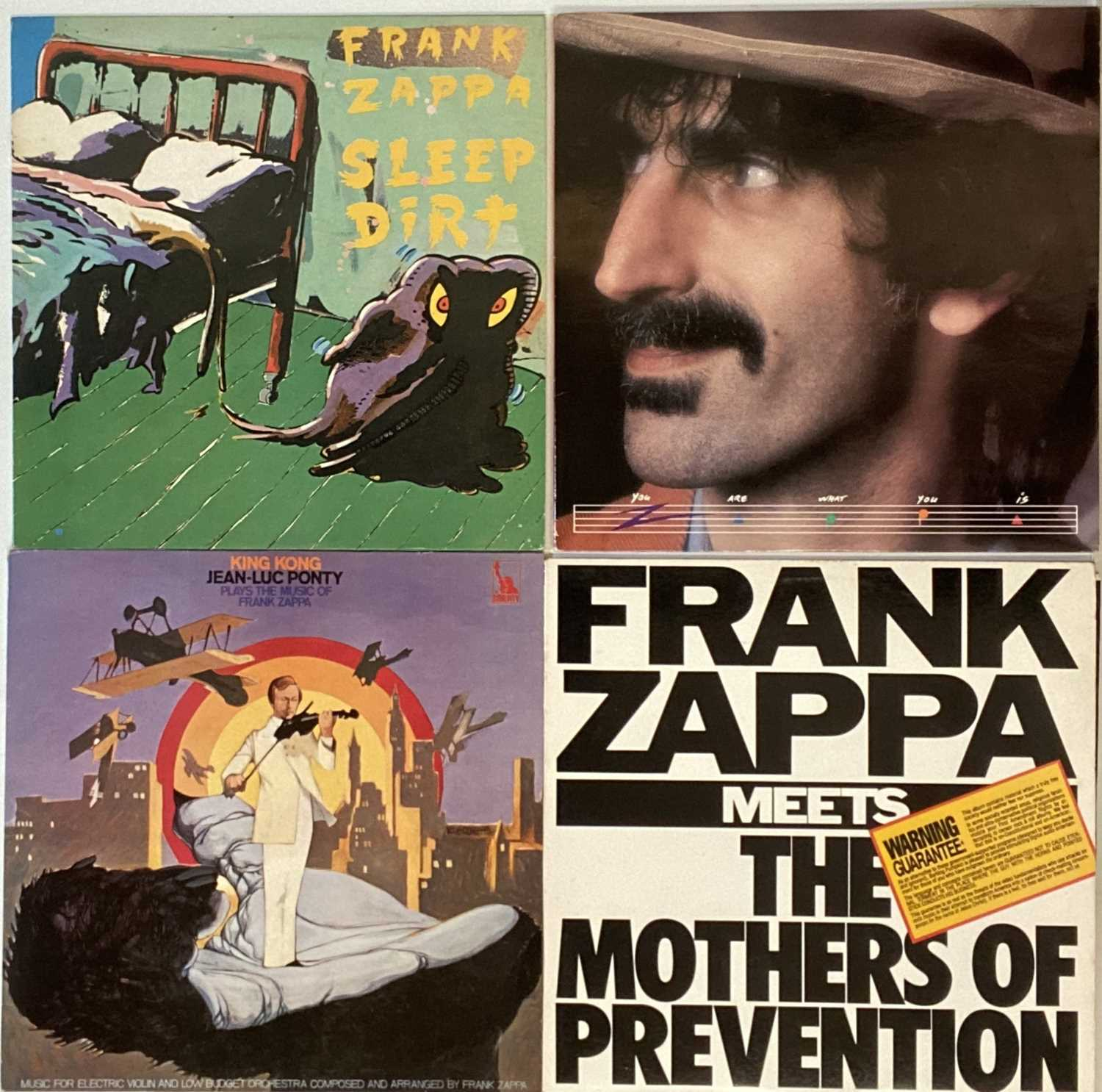 FRANK ZAPPA - LP COLLECTION - Image 3 of 3