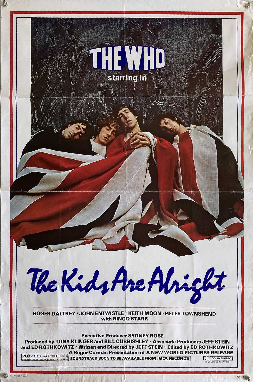 THE WHO / SMALL FACES POSTERS INC THE KIDS ARE ALL RIGHT US ONE SHEET.