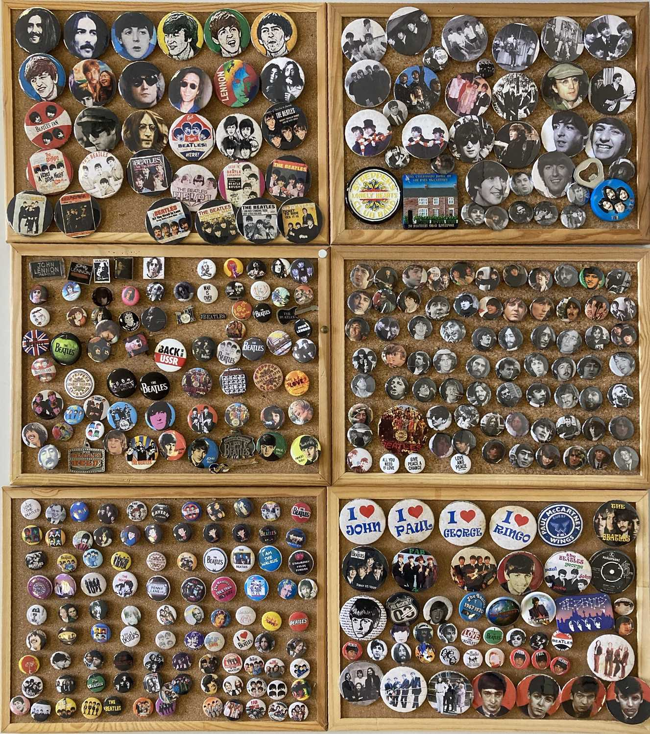 BEATLES BADGE COLLECTION. - Image 2 of 4
