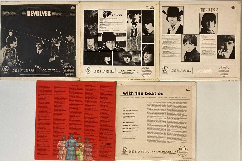 THE BEATLES - STUDIO LPs (CLEAN EARLY/ORIGINAL COPIES) - Image 2 of 2