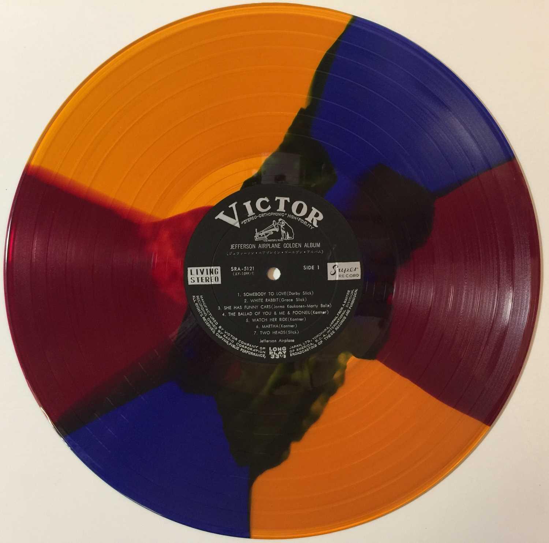 JEFFERSON AIRPLANE'S GOLDEN ALBUM LP (MARBLE VINYL - SRA-5121) - Image 3 of 5
