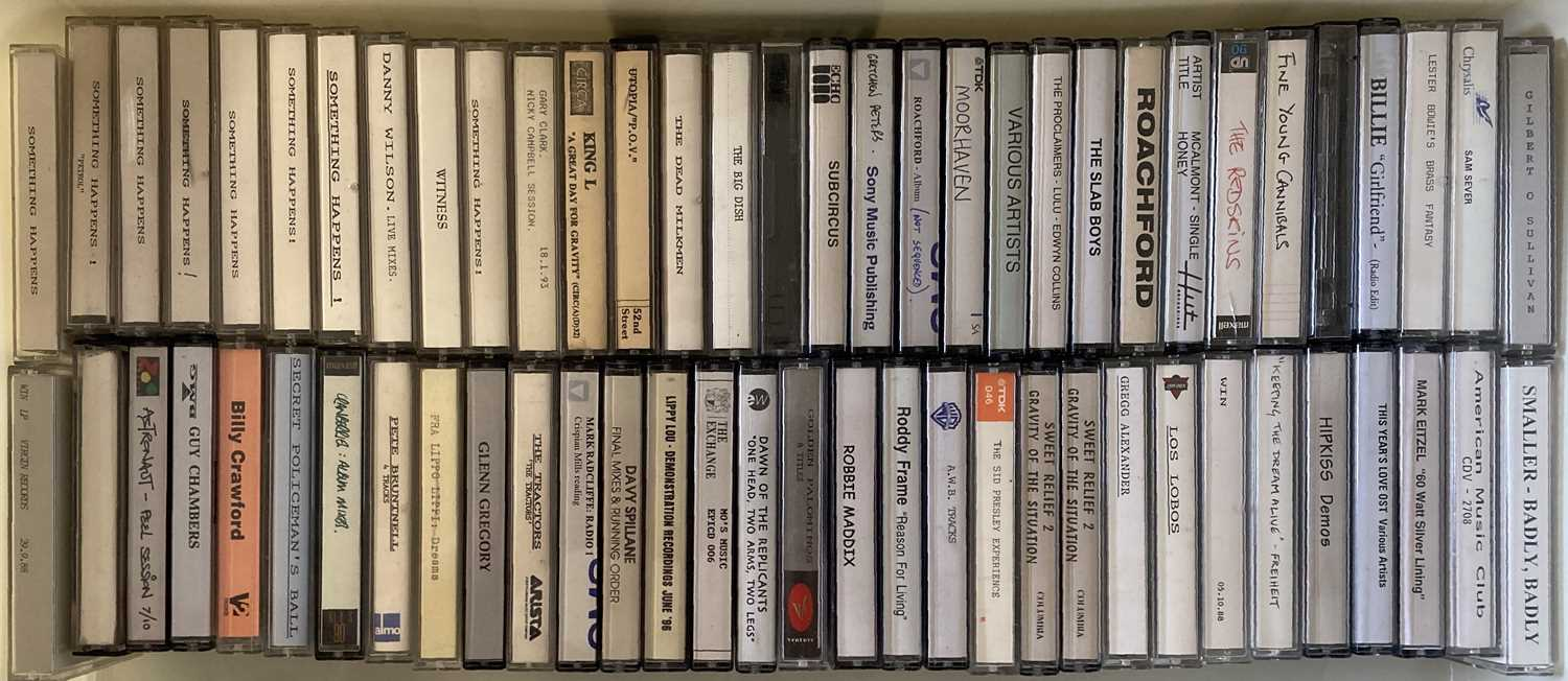 PROMOTIONAL AND DEMO CASSETTES.